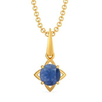 Sapphire Blues Gemstone Pendants