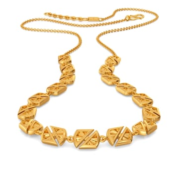 Party Pass Gold Necklaces