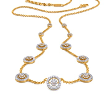 Wander Wheels Diamond Necklaces