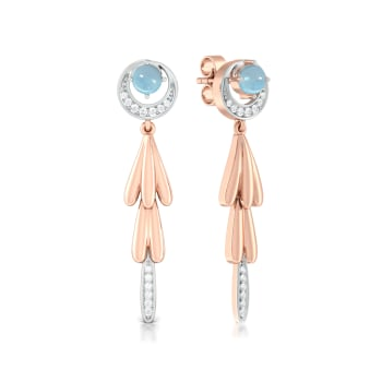 Bluebells Diamond Earrings