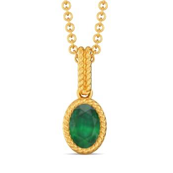 Green Gables Gemstone Pendants