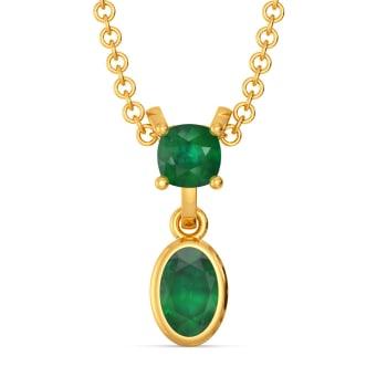 Olive N Oval Gemstone Pendants