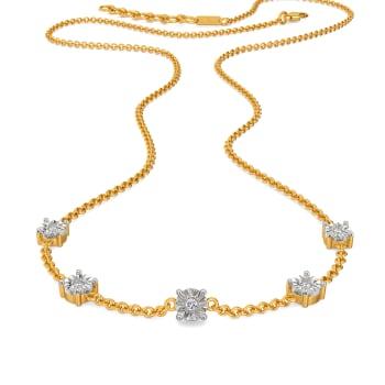Dazzle Drama Diamond Necklaces