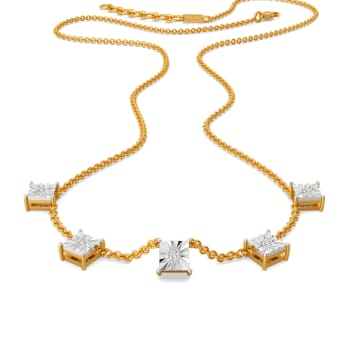 Scrabble Dazzle Diamond Necklaces