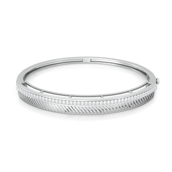 Stripey Affair Diamond Bangles