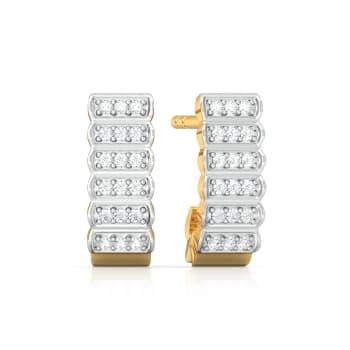 Tend to Bend Diamond Earrings