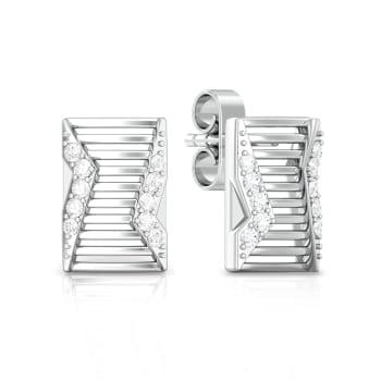 Cloaked Runway Diamond Earrings