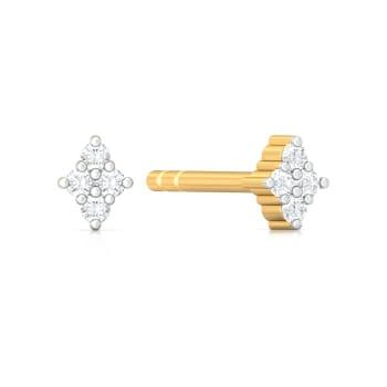 Four Score Diamond Earrings