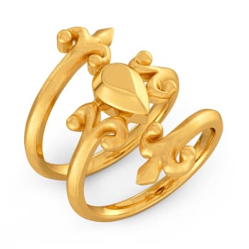 Victorian Dreams Gold Rings