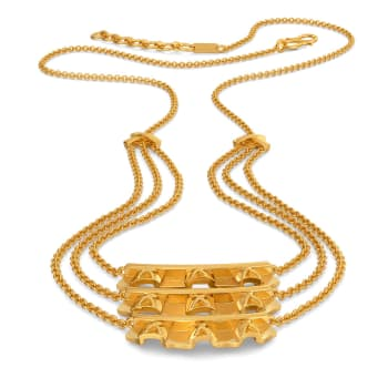 Frilltastic Gold Necklaces