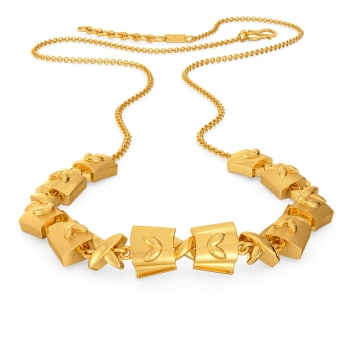 Free Frills Gold Necklaces