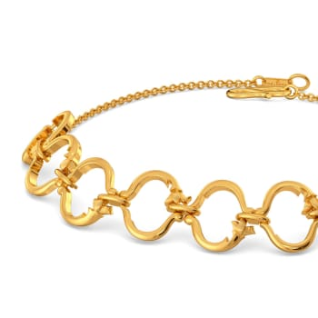 Vine Repeat Gold Bracelets