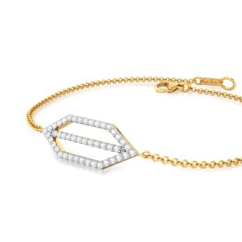 Trigon Frills Diamond Bracelets