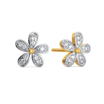 Magnolia Muse Diamond Earrings