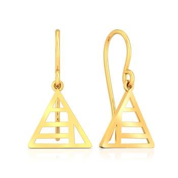 Geometrix Gold Earrings