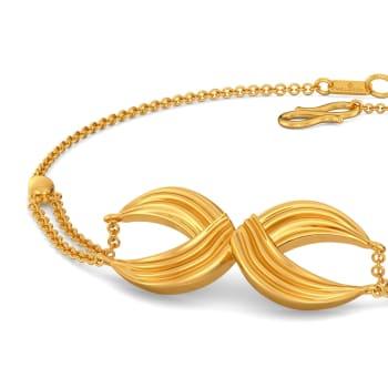 Goddess Finesse Gold Bracelets