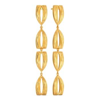 Mod God Gold Earrings