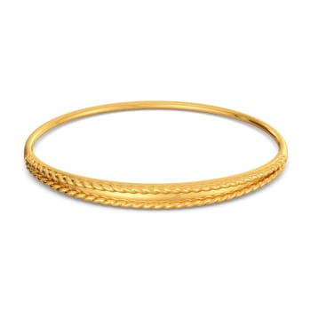 Oh So Boho Gold Bangles