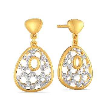 Lace Unlocked Diamond Earrings