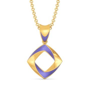 Lilac Vision Gold Pendants