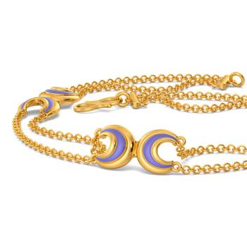 Laze in Lilac Gold Bracelets