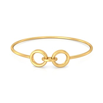 Take Two Gold Bangles