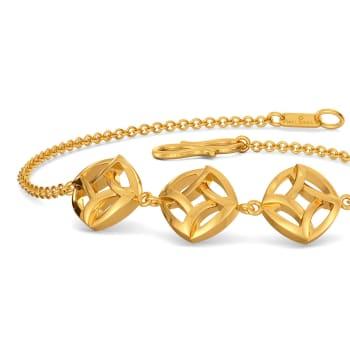 Saviour Suit Gold Bracelets