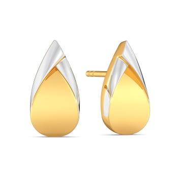 Loop Troops Gold Earrings