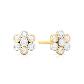 Star Light Star Bright  Diamond Earrings