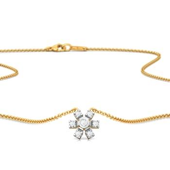 Pin Wheeling Diamond Necklaces