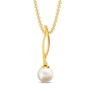 Twirl A Pearl Gemstone Pendants