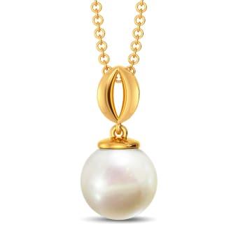 Curl A Pearl Gemstone Pendants