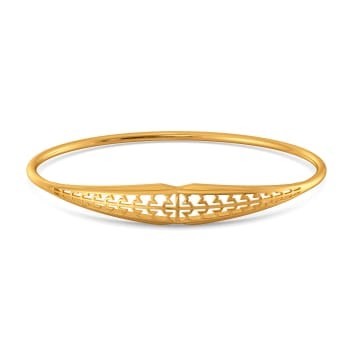 Formal Tweed Gold Bangles