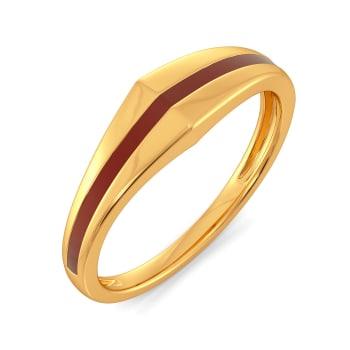 Dual Scholars Gold Rings