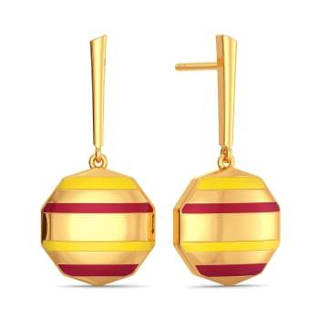 Prep Reboot Gold Earrings