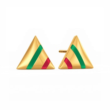 The Ivy Edit Gold Earrings