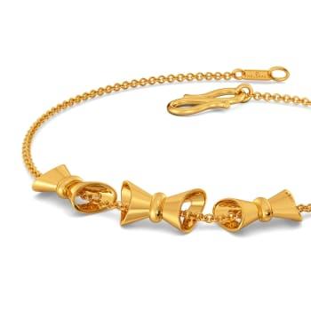 Wayward Bows Gold Bracelets