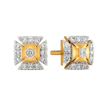 Bow Basics Diamond Earrings