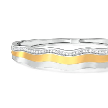 O Lala Diamond Bangles