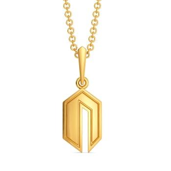 Binge in Bermuda Gold Pendants