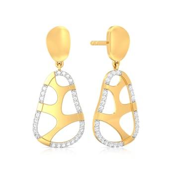 Jungle Jazz Diamond Earrings