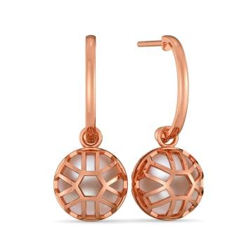 Beam in Beige Gemstone Earrings