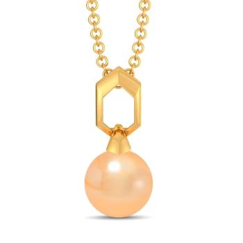 Peachy Vibes Gemstone Pendants