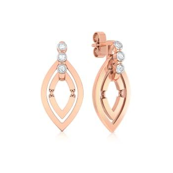 Navette Diamond Earrings