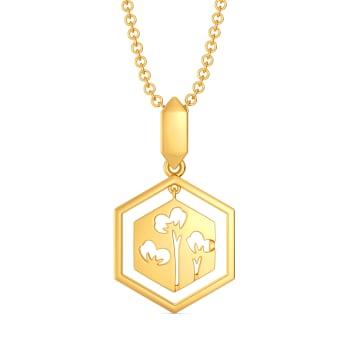 Scarf It Up Gold Pendants