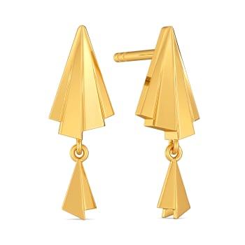 Tassel Tease Gold Earrings
