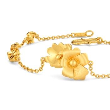 Taffeta Gold Bracelets