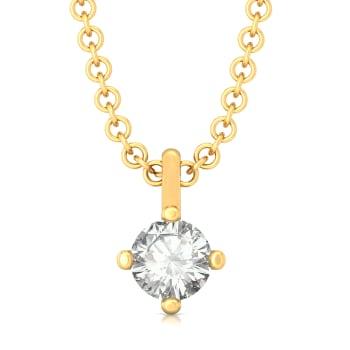 Minima Diamond Pendants