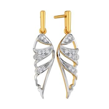 Bold N Brave Diamond Earrings