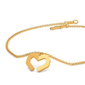 Flaunt Fondly Gold Bracelets